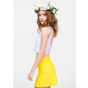 Kortni Jeane High Waisted Skirt